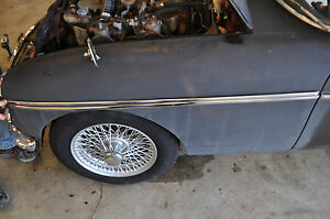 New 1965 80 Mg Mgb Gt 1967 69 Mgc Driver Front Fender Trim Reproduction