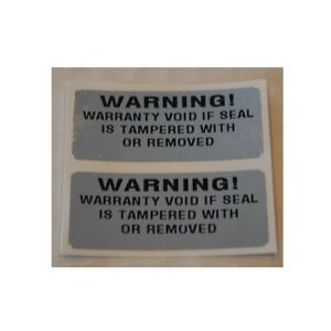 1000 Warning Warranty Void Security Labels Stickers tamperproof serial