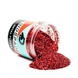 2oz Roulette Red Metal Flake 0 015