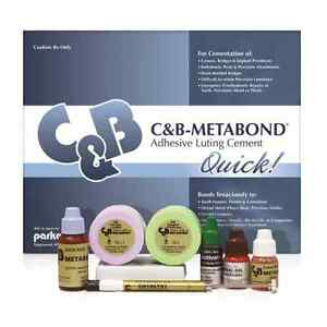 Parkell C b Metabond Adhesive Luting Cement Complete Kit s380