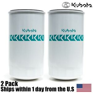 2 Genuine Oem Kubota Hydraulic Oil Filter Hhta0 37710 L And M Mx Series Tractors