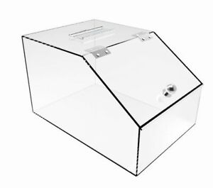 Acrylic Candy Holder Display Box Lucite Plexiglass Countertop Container 20146 2