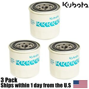 3 Genuine Oem Kubota Oil Filter Hh1c0 32430 1c020 32430 Hh 1co 32430