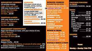 Digital Menu Board Includes Signage Player Software And Content Design