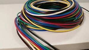 16 Gauge Wire 7 Colors 25 Ft Ea Primary Awg Stranded Copper Power Mtw Bwrgybb