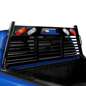 For Ram 3500 11 18 Heavy Duty Lighted Fully Louvered Headache Rack