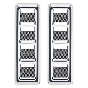 For Chevy Camaro 1968 1969 R Hood Louvers