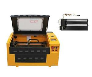 Upgraded Version Co2 40w Laser Engrave Machine Usb Port With Rotary Axis
