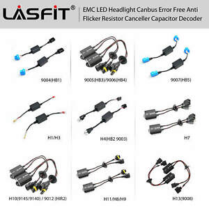 Led Headlight Canbus Decoder Error Free Warning Canceller Anti Flicker Plug