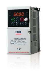 Lslv0002c100 1 Ls Is Lg Industrial Systems Vfd 1 4 Hp 1 4 A Frame Size 1 New
