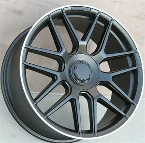 22x10 5x112 Wheels Tires Pkg M benz Ml Class Gl450 Ml350 Ml500 Ml550 Gl350 4