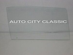 1969 1970 Dodge Charger Plymouth Road Runner Hardtop Door Glass Right Clear