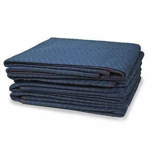 Moving Blankets Set Of 12 72 X 80 Furniture Pads Warehouse Heavy Duty