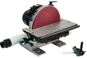 Delta 31 140 12 in Disc Sander With Integral Dust Collection New