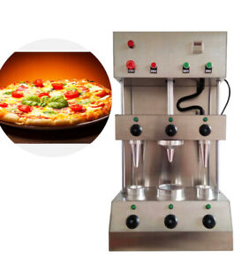 2 In 1 Commercial Pizza Cone Forming Making Maker Machine Rotational Oven
