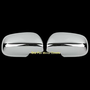 For Toyota Corolla Matrix 2009 2013 Prius 04 09 Yaris 05 11 Chrome Mirror Covers