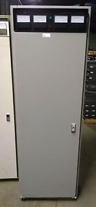 Rare Ge Ericsson Mastr Ii Low Band Vhf High Power Repeater Base Station Cabinet