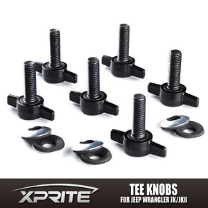 Easy On Off Hard Top Removal Fasteners Nuts Bolts For Jeep Wrangler Yj Tj Jk