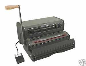 Akiles Wiremac ex31 Wire Binding Machine Electric Punch 3 1 Pitch 14 new