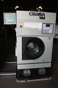Columbia Dry Cleaning Machine Hcs Nal40 Built 2001