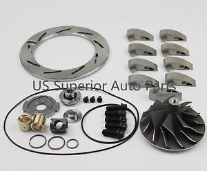 05 07 Ford Powerstroke 6 0 Gt3782va Turbo Charger Major Replacement Rebuild Kit