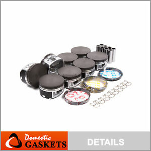 04 14 Ford Lincoln 5 4l 3 valve Sohc Triton Piston Set With Rings Vin 5 V
