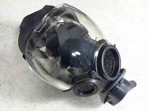 Msa 40mm Nato Millennium Cbrn Gas Mask Nbc Respirator Medium 10051287 New nib