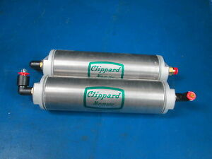 Lot Of 2 Clippard Minimatic Pneumatics Cylinders 05 Clippard Avt 24 8