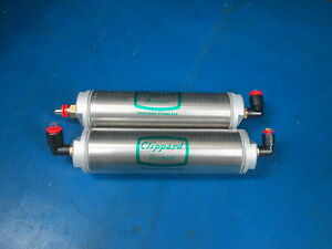 Lot Of 2 Clippard Minimatic Pneumatics Cylinders U4 Clippard Avt 24 8