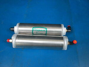 Lot Of 2 Clippard Minimatic Pneumatics Cylinders X4 Clippard Avt 24 8