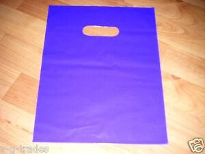 Lot Of 600 9 X 12 Purple Teal Pink Glossy Plastic Merchandise Bags Gift Bags