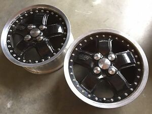 Two Mugen Mr5 Rims 15 4x100 Honda Crx Civic Acura Integra Wheels Usa Seller