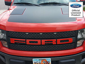 Ford Raptor F 150 Grill Letter Stickers Decals 3m 1080 Color Ford Licensed 10 14