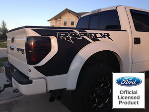 Ford Raptor F 150 Svt Bed Graphics Decals 3m 1080 High Quality Vinyl 2010 2014