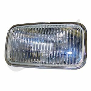 Fog Light Lens Left Or Right Fits Jeep Grand Cherokee Zj 1993 1995 4713584 Crown