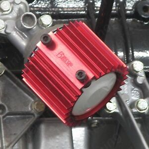 Bmw M10 Oil Filter Cooler Heat Sink Cover Red