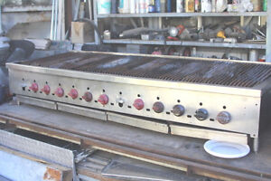 6ft Radiant Table Top Charbroiler Grill