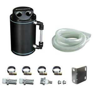 Mishimoto Performance Black Oil Catch Can Resevoir Tank
