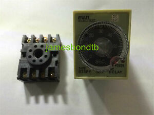 St3pf 12v 24v 110v 220v 10s 30s 60s 3min Power Off Delay Timer Time Relay W Base