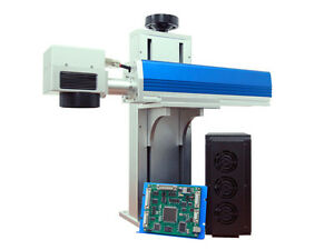 New 20watt Q switched Industrial Fiber Laser Marking Cutting System
