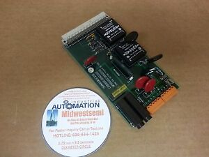 Freeshipsameday Crosfield 7605 0300 01a Solid State Relay Mk3 Board 7605 0290 00