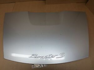 06 Porsche 987 Boxster S Silver Rear Hood Lid Cover Back Trunk 42 255 Na