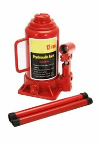 Heavy Duty 12 Ton Hydraulic Bottle Jack Stands Auto Shop Equipment Car Truck Rv