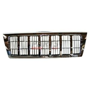 Front Grille Fits 2004 Jeep Grand Cherokee Limited Model Xb92tstac