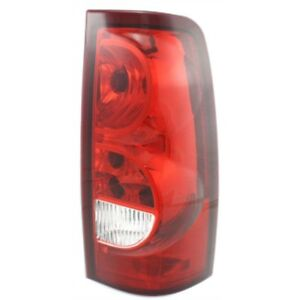 New Tail Lamp Assembly Fits 2003 Chevrolet Silverado 1500 Rear Right Gm2801161