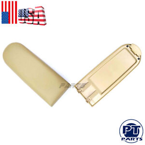 New Beige Pu Leather Center Console Armrest Cover Lid For Vw Beetle Golf Jetta