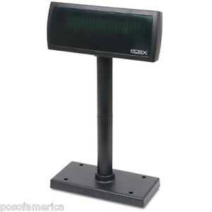 Pos x Xp8200 Customer Pole Display Serial Black New