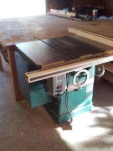 10 Powermatic Table Saw With 3hp Motor 50 Fence Included