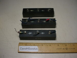 Edi Diode rectifier ed 9613 Lot Of 3