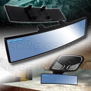 Blue Broadway 300mm Wide Convex Tint Interior Clip On Rear View Mirror Universal